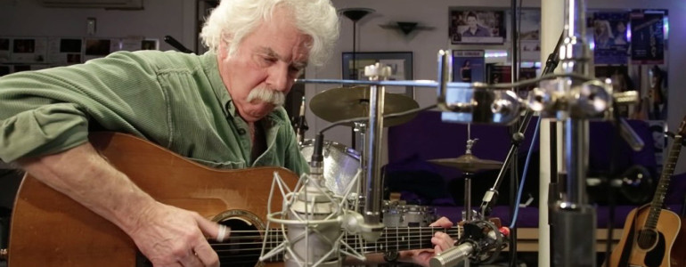 """Tom plays """"Mole's Moan"""" for Gene Shay farewell on WXPN"""
